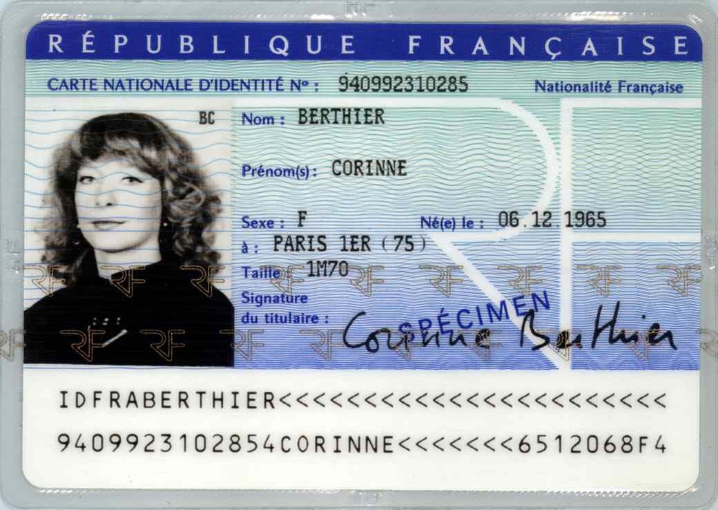 Carte Nationale D Identite Didauto Carte Grise